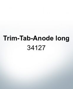 Anodes compatible to Mercury | Trim-Tab-Anode long 34127 (Zinc) | 9705