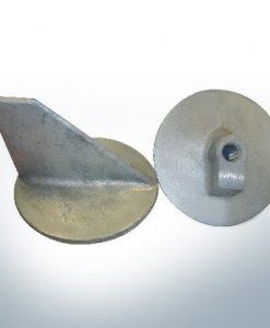 Anodes compatibles avec Mercury | Anode à clapet -40 664-55371 (AlZn5In) | 9716AL