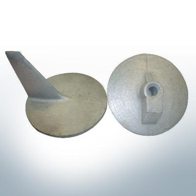 Anodes compatibles avec Mercury | Anode à clapet QSS 46399 (AlZn5In) | 9707AL