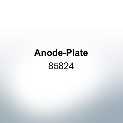 Anodes compatible to Mercury | Anode-Plate 85824 (AlZn5In) | 9710AL