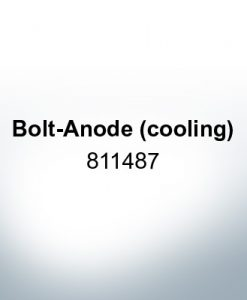 Anodes compatible to Mercury | Bolt-Anode (cooling) 811487 (Zinc) | 9714