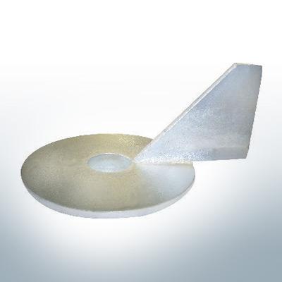Anodes compatibles avec Mercury | Anode à clapet Ev/Jo 316981-1 (AlZn5In) | 9530AL