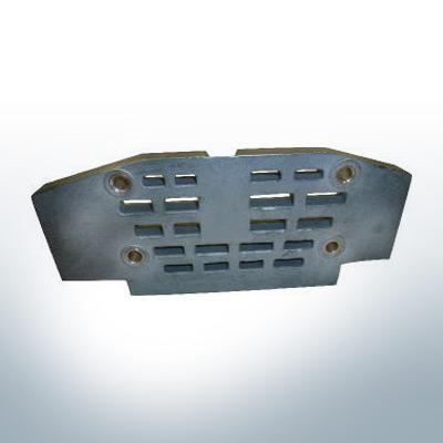 Anodes compatibles avec Mercury   Anode grille grande 982438 (zinc)   9525