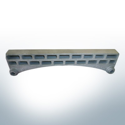 Anodes compatible to Mercury | Grid-Anode small 976669 (AlZn5In) | 9526AL