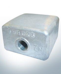 Anodes compatibles avec Mercury | Bloc d'anode 436745/393023 (zinc) | 9528