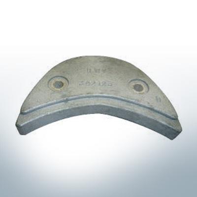 Anodes compatibles avec Mercury   Anode á Plaque Ev/Jo 392123 (zinc)   9529