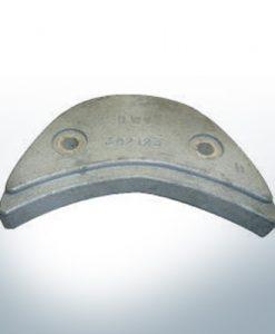 Anodes compatibles avec Mercury | Anode á Plaque Ev/Jo 392123 (AlZn5In) | 9529AL