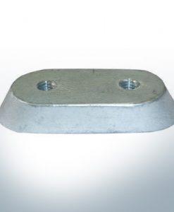 Anodes compatibles avec Honda | Bloc d'anode 18-6025/41107-ZV5 (AlZn5In) | 9545AL
