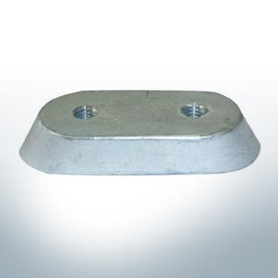 Anodes compatibles avec Honda   Bloc d'anode 18-6025/41107-ZV5 (Zinc)   9545