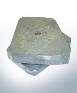 Anodes compatibles avec Mercury | Anode alle V8 Cobra 336205 6 (AlZn5In) | 9534AL