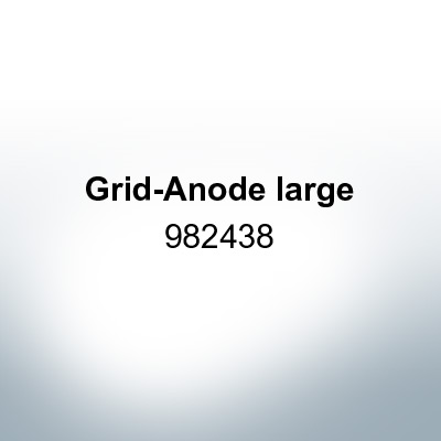 Anodes compatible to Mercury   Grid-Anode large 982438 (Zinc)   9525
