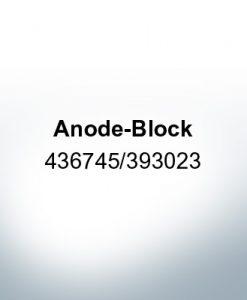Anodes compatible to Mercury | Anode-Block 436745/393023 (Zinc) | 9528
