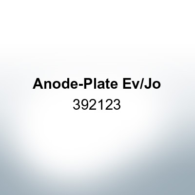 Anodes compatible to Mercury | Anode-Plate Ev/Jo 392123 (AlZn5In) | 9529AL