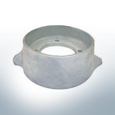Anodes compatible to Volvo Penta   Ring-Anode Saildrive 110 875812 (Zinc)   9202