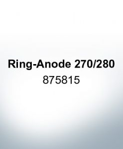 Anodes compatible to Volvo Penta | Ring-Anode 270/280 875815 (AlZn5In) | 9205AL