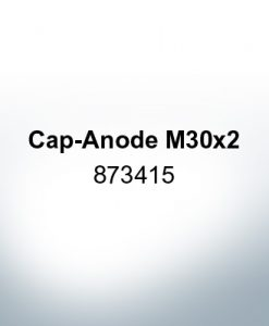 Anodes compatible to Volvo Penta | Cap-Anode M30x2 873415 (Zinc) | 9218