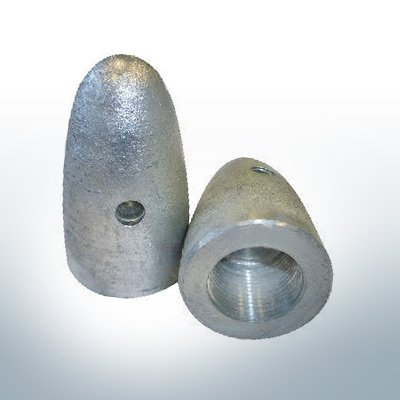 Anodes compatible to Volvo Penta   Cap-Anode M16x1,5 873411 (AlZn5In)   9221AL
