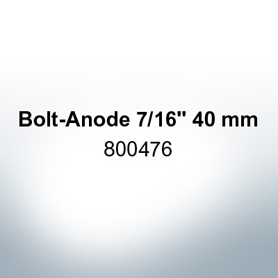 """Anodes compatible to Volvo Penta 