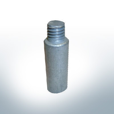 """Anodes compatible to Volvo Penta   Bolt-Anode 7/16"""" 25mm 804107 (AlZn5In)   9224AL"""