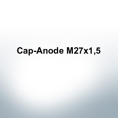 Anodes compatible to Volvo Penta | Cap-Anode M27x1,5 (Zinc) | 9234