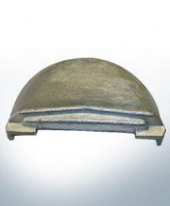Anodes compatibles avec Volvo Penta | Anodes de bloc Zn + Mg 3855411 (AlZn5In) | 9236AL
