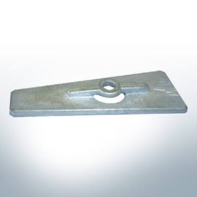 Anodes compatibles avec Yamaha and Yanmar | Anode 9,5 15 PS 623-45251-00 (AlZn5In) | 9535AL