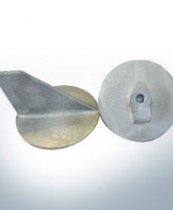 Anodes compatibles avec Yamaha and Yanmar | Anode à clapet >40PS M10x1,25 679-45371-00 (zinc) | 9537