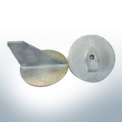 Anodes compatibles avec Yamaha and Yanmar | Anode à clapet <40PS M10x1,25 679-45371-00 (AlZn5In) | 9537AL