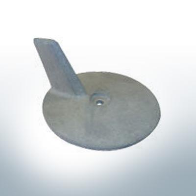 Anodes compatibles avec Yamaha and Yanmar   Anode à clapet 85PS 688-45371-00 (zinc)   9538