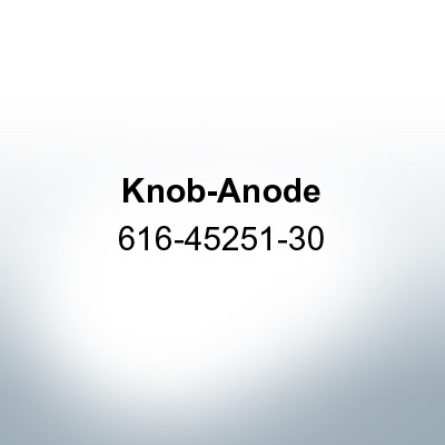 Anodes compatible to Yamaha and Yanmar | Knob-Anode 616-45251-30 (Zinc) | 9540