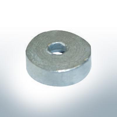 Anodes compatibles avec Yamaha and Yanmar | Anode bouton 616-45251-30 (zinc) | 9540