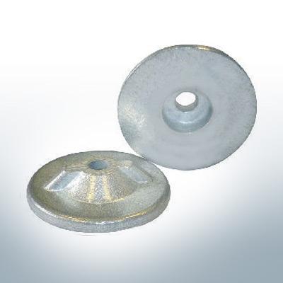 Anodes compatibles avec Yamaha and Yanmar | Anodes à disque 6G1-45251-00 (zinc) | 9541