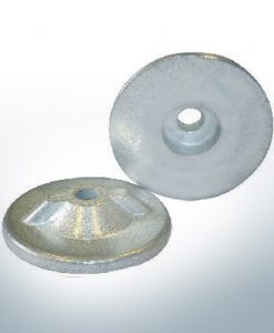 Anodes compatibles avec Yamaha and Yanmar | Anodes à disque 6G1-45251-00 (AlZn5In) | 9541AL