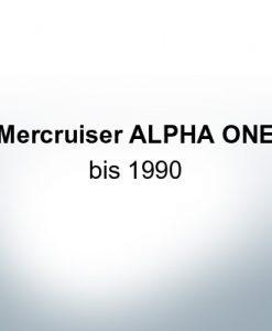 Sets of anodes | Mercruiser ALPHA ONE until 1990 (Zinc) | 9709 9712 9715