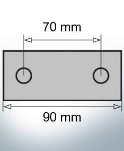 Block- and Ribbon-Anodes Block L90/70 (AlZn5In) | 9312AL