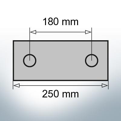 Block- and Ribbon-Anodes Block L250/180 (Zinc) | 9320