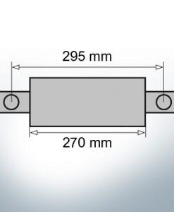 Block- and Ribbon-Anodes Square L270/295 (AlZn5In) | 9331AL