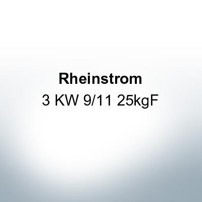 Rheinstrom 3 KW 9/11 25kgF (AlZn5In) | 9612AL