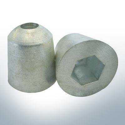 Anode de propulseur d'étrave 35 x 35 (AlZn5In)   9614AL