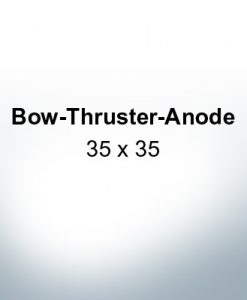 Bow-Thruster-Anodes 35 x 35 (AlZn5In)   9614AL