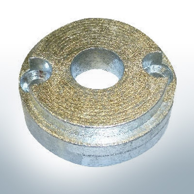 Anode de propulseur d'étrave BP-1126 35-55 Kgf (AlZn5In) | 9621AL