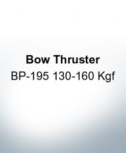 Bow Thruster BP-195 130-160 Kgf (AlZn5In) | 9623AL