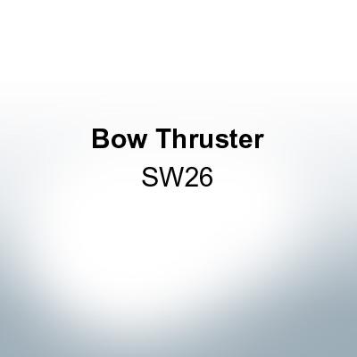 Bow Thruster SW26 (AlZn5In) | 9627AL