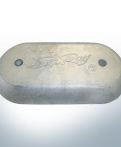 Anodes à disque SeaRay ovale (Zinc) | 9802