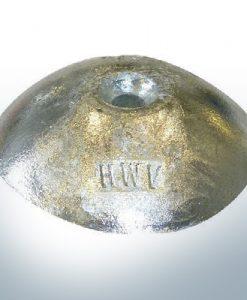 Anodes à disque Ø 75mm | trou de passage (Zink) | 9806