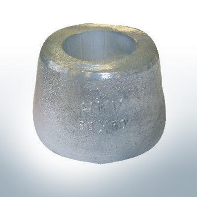 Anodes coniques 80x50 Ø80 mm (AlZn5In)   9808AL