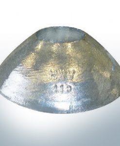 Anodes coniques 110x40 Ø110 mm (Zinc) | 9809