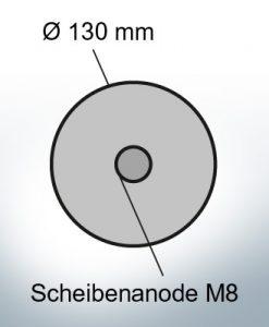 Disk-Anodes Ø 130mm   Bundle (Zinc)   9814 9815