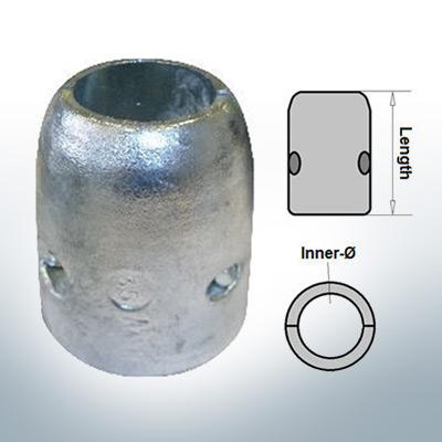 Anode d'arbre à diamètre intérieur métrique 35 mm (Zink)   9004
