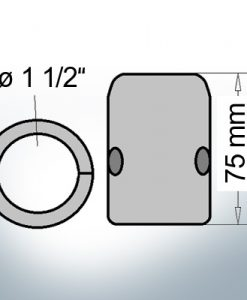 Shaft-Anodes with imperial inner diameter 1 1/2'' (AlZn5In)   9018AL